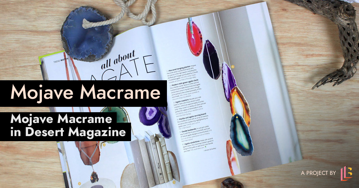 Mojave Macrame mentioned in Desert Magazine